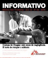 Doença de Chagas - Médicos Sem Fronteiras