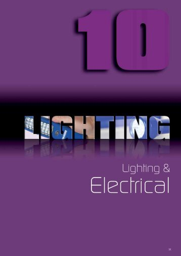 Lighting & Electrical - Industrial and Bearing Supplies