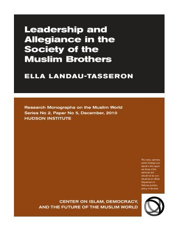 Bay'a 2010:Layout 1 - Current Trends in Islamist Ideology