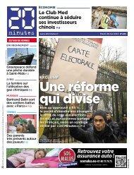 Une réforme qui divise - 20minutes.fr