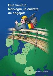 Bun venit in Norvegia, in calitate de angajat! - Fellesforbundet