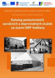 Katalog poskytovatelů sociálních a doprovodných služeb na území ...