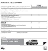 Renault espace edition pga pReise und ausstattungen