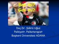 Slayt 1 - Başkent Üniversitesi Adana Uygulama ve Araştırma Merkezi