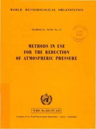 methods in use for the reduction of atmospheric ... - E-Library - WMO