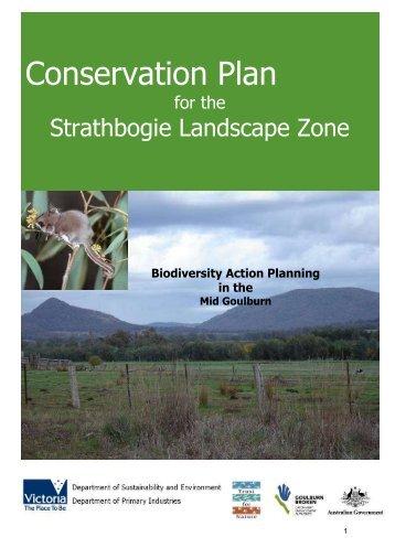 Conservation Plan for the Strathbogie Landscape Zone (1.7 MB ...