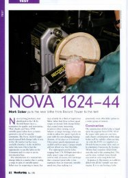 UK Woodturning Magazine - Teknatool