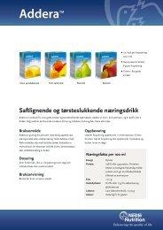AdderaTM - nestle nutrition