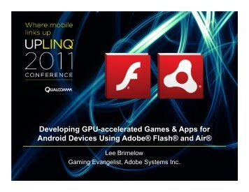 Developing-GPU-Accelerated-Games-Apps-Android-Using ... - Uplinq