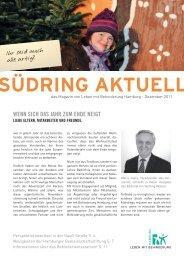 Südring Aktuell Dezember 2011 - Hamburger Gemeinschaftsstiftung ...