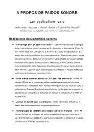 A_propos_de_Faidos_Sonore (pdf) (2.2 Mo) - cinema-midipyrenees