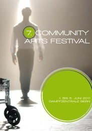 7. Community Arts FestivAl - MyHandicap