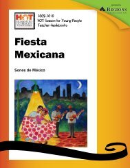 Fiesta Mexicana - Tennessee Performing Arts Center