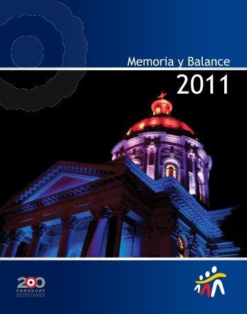 Memoria y Balance - Banco Familiar