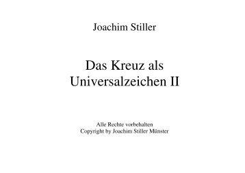 sonstiges_kreuz_univ.. - von Joachim Stiller