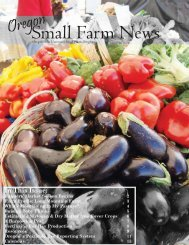 Small Farms Newsletter Spring 2007.indd - Oregon Small Farms