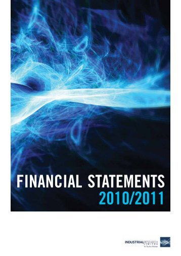 FINANCIAL STATEMENTS 2010/2011 - Industrial Research Limited