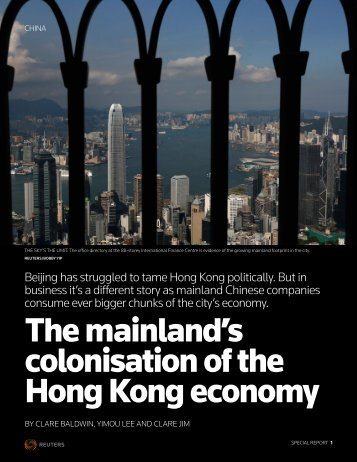 HONGKONG-CHINA:ECONOMY
