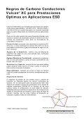 Negros de Carbono Conductores Vulcan® XC para Prestaciones ... - Page 2