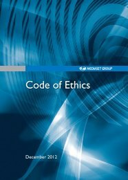 Code of Ethics - Mediaset.it