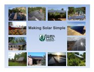 Jul 2009 - Making Solar Simple