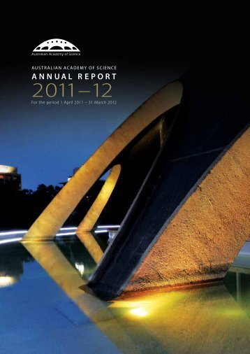 ANNUAL REPORT - Australian Academy of Science