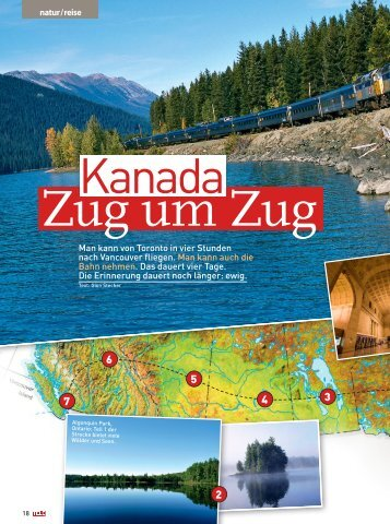Mit dem Zug von Toronto nach Vancouver, ein ... - Travel Tele
