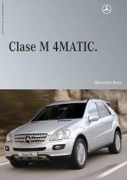 Especificaciones técnicas CLASE M