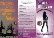 Tanzgruppe - UFC Ellingen 1992 e.V.