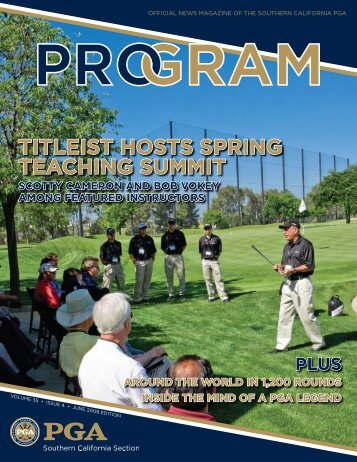 titleist hosts spring teaching summit - Southern California PGA
