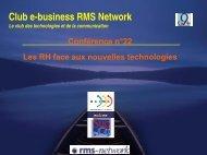 E-learning, externalisation : les RH face aux nouvelles ... - G9+