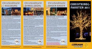 Christkindl- fahrten 2011