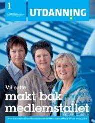 Utdanning nummer 01 2011 - Utdanningsnytt.no