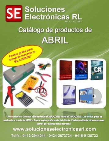 Catálogo PC abril 2015