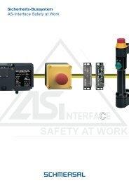 Sicherheits-Bussystem AS-Interface Safety at Work - Schmersal
