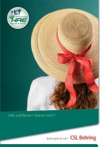 Broschüre als PDF downloaden - HAE erkennen