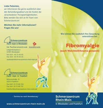 Fibromyalgie - Schmerzzentrum Rhein-Main