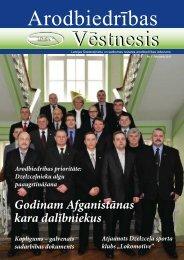 Godinam Afganistānas kara dalībniekus - Latvijas Dzelzceļnieku un ...