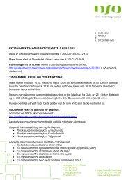 Invitasjon til Landsstyremøte med praktisk informasjon og foreløpig ...
