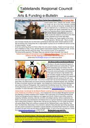 Issue # 39 - June 2013 - Tablelands Regional Council