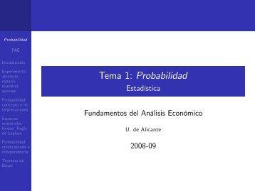 Tema 1: Probabilidad
