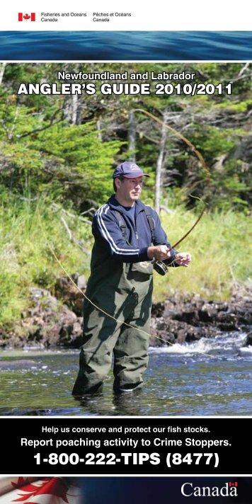 Angler's Guide for Newfoundland & Labrador - Straight Line Sports