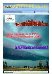 La Gazette de la FPS / Juillet-Août-Septembre 2005 / N° 32 Page 1 ...