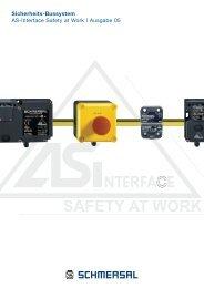 Sicherheits-Bussystem AS-Interface Safety at Work ... - Schmersal