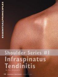 Infraspinatus Tendinitis - Ben Benjamin