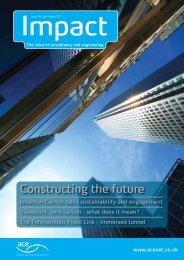 Constructing the future - Association for Consultancy and Engineering