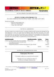 Zetex Untreated Products - stagecraft fundamentals