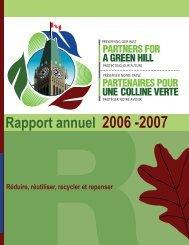 2006-2007 - Partners for a Green Hill - Partenaires pour une Colline ...