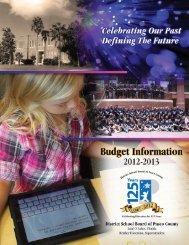 2013 - Pasco County Schools