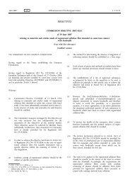 Commission Directive 2007/42/EC - EUR-Lex